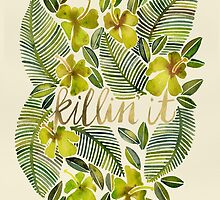 Killin' It – Tropical Yellow by Cat Coquillette