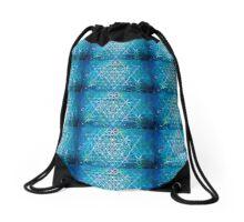 Spiritual Kloth FOLife Hx Drawstring Bag by Kordial Orange Drawstring Bag