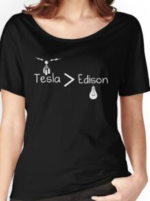 Tesla > Edison Women's Relaxed Fit T-Shirt
