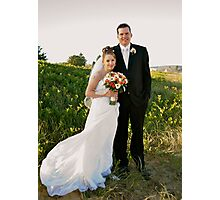 MY first wedding shoot Photographic Print