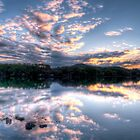 Woy Woy sunrise Panorama by Jason Ruth