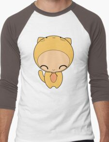 kitty kat Men's Baseball ¾ T-Shirt