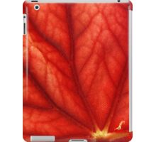 Under Shades of Red iPad Case/Skin