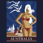 Australia the T-Shirt by Shanina Conway