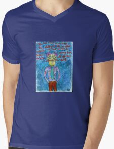 In The Red Planet Mens V-Neck T-Shirt