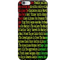 Reggae Artist - Roll Call iPhone Case/Skin