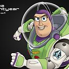 Buzz Lightyear by Phil Dickinson