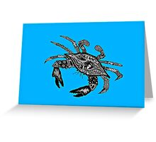 Maryland Blue Crab Greeting Card
