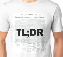 TL;DR - Declaration of Independence Unisex T-Shirt