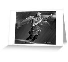 Angel In Flight Greeting Card