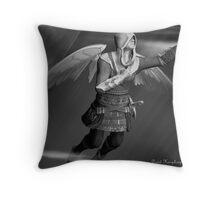 Angel In Flight Throw Pillow