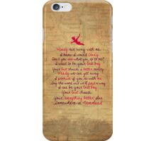 Somewhere in Neverland iPhone Case/Skin