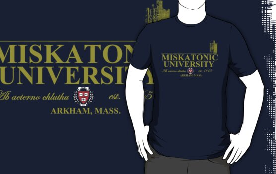 Miskatonic University by Peter Simpson