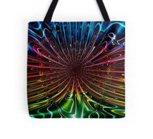 Peacock (Abstract) Tote Bag