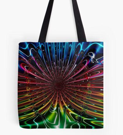 Peacock (Abstract) Tote Bag