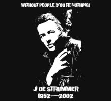 Joe Strummer by Psychoskin