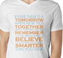 You Are Braver Mens V-Neck T-Shirt