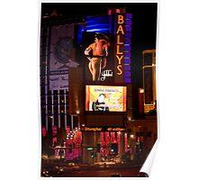 Las Vegas night life Poster