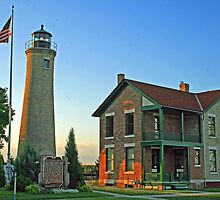 Historic Southport Lighthouse by kkphoto1