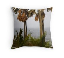 Arabian Sea Throw Pillow