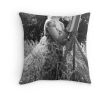 Paint the Wind Throw Pillow
