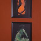 Framed Lacoquian Nudes by ArtLacoque