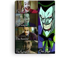Jokers  Canvas Print