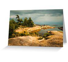 Georgian Bay landscape Greeting Card