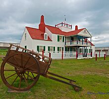 Fort Union Trading Post by Nuttee Ratanapiseth