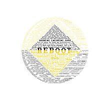 ReBoot Typography Photographic Print