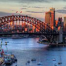 Light Camera Action (25 Exposure HDR Panorama)  - Sydney Harbour - The HDR Experience by Philip Johnson