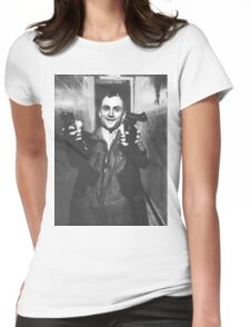 Travis Bickle Taxi Driver Womens Fitted T-Shirt