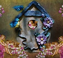 Birdhouse by Gypsykiss