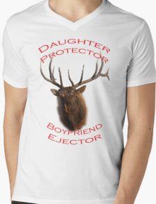 Daughter Protector Mens V-Neck T-Shirt