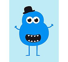 Funny Vintage/Retro Monster Photographic Print