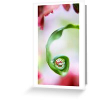 Spring Pearls Greeting Card