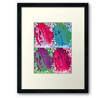 POP BARBIE Framed Print