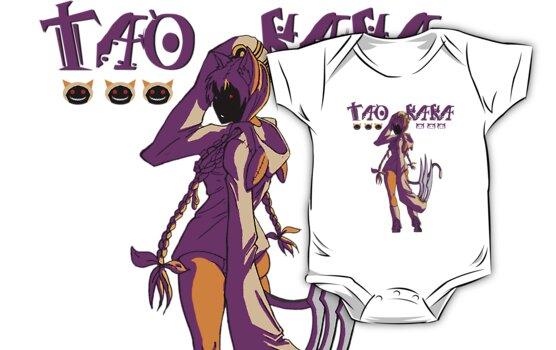 taokaka - male shirt by draggingidea