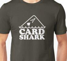 Card Shark (white) Unisex T-Shirt