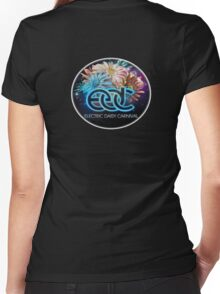 Electric Daisy Carnival Women's Fitted V-Neck T-Shirt