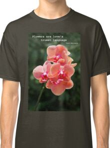 Orchid in close up Classic T-Shirt