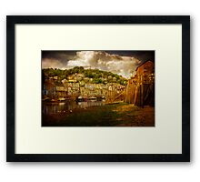 Looe Harbour 2 Framed Print