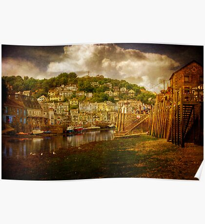 Looe Harbour 2 Poster