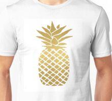 gold foil pineapple Unisex T-Shirt