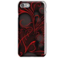 Red in the Dark iPhone Case/Skin