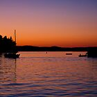 Roche Harbor Sunset by pinklilypress