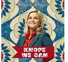 "Leslie Knope ""Knope We Can"" phone case by rhicola"