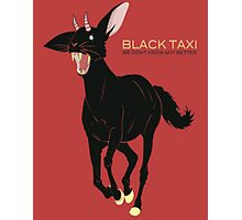 Black Taxi - We Don't Know Any Better Photographic Print