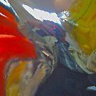 Abstract Art.No.2. My self portrait . by © Andrzej Goszcz,M.D. Ph.D