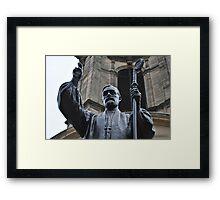 Charles Gore, Statue  Framed Print